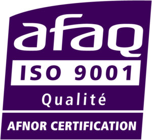 Logo Afaq iso 9001 Afnor certification